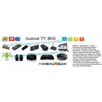 China Android TV Box Manufacturers, Smart TV box suppliers, Android-based TV set-top box China exporters on sale