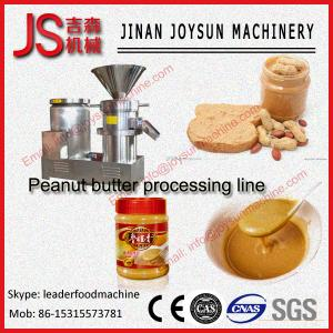 China CE Sesame Paste Machine Peanut Butter Machine 30 - 100kg / h on sale