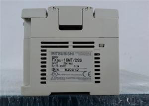 China 16 - 384 Points Mitsubishi Melsec Programmable Logic Controls FX3U-16MT/DSS on sale