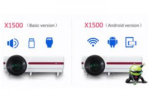 Quality CRE X1500HD WXGA Image LED Video Projector 1280x800 Resolution Low Noise for sale