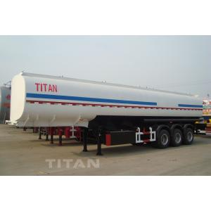 China 54000 liters of fuel semi trailer with carbon steel tank four company compartment tank trailer for sale on sale