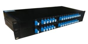 China 1310 Mux Demux CATV FTTH Rack Mount/Fiber Optic/CWDM supplier on sale