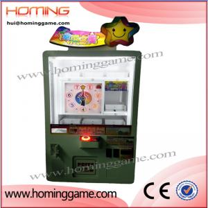 China newest arcade coin operated game machine prize vending kids toy claw crane game machine for sale(hui@hominggame.com) on sale