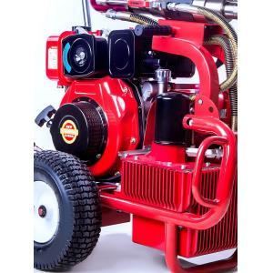 China Hydraulic Diesel Piston Pump Sprayer Airless Paint Equipemnt 13.5L/Min Putty on sale