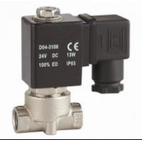 China 1/8〃2 Way 24v Solenoid Valve Water Stainless Steel Solenoid Valves For Water on sale
