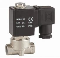 China Stainless 12V Air Solenoid Valve , Directional Solenoid Valve Fast Acting on sale