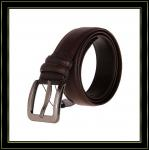 Stigmatisez la ceinture «Fuliter» boucle noire véritable de Pin de casaul des ceintures en cuir de 239 hommes de vache