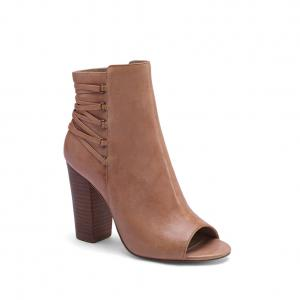 China Peep Toe Ankle Boots High Quality with Reasonable Price, Genuine Leather High Heel Pumps on sale
