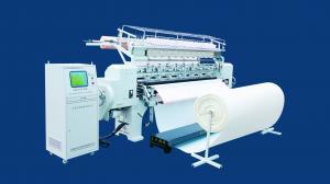 China Three Needle Bar Mattress Industrial Quilting Machine Stitch Length 2-6 MM on sale