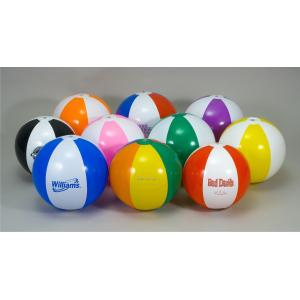 Quality PVC Inflatable Beach Ball Inflatable Toys Ball Color Size Logo Can Be Customized for sale