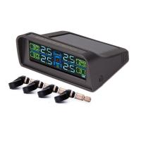 Small Car Tire Pressure Monitoring System 4 Tires Aftermarket TPMS With LCD Display