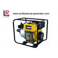 China Air cooled Diesel Water Pump 2 inch hand operated with output 4HP / 5.5KW on sale