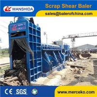Electric Motor Drive Scrap Car Logger Baler to shred and press waste Steel plate sgs australia