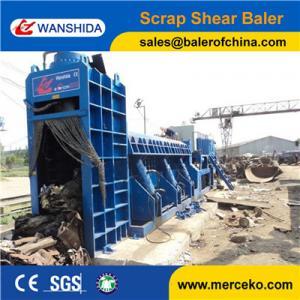 China High efficiency Scrap Car Bodies Shear Baler Logger For Light Scrap Metal 3m Press Room for sale on sale
