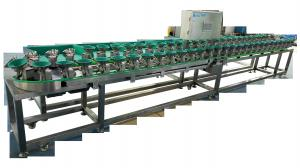 China Commercial Automatic Tray Fruit Sorting System 0.6KW Fruit Sorting Machine on sale
