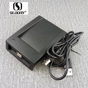 China Free SDK RS232 13.56Mhz Smart RFID Card Reader Writer on sale
