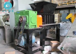China Mobile Steel Portable Scrap Metal Shredders Big Capacity Twin Shaft 500 - 2000kg/h on sale