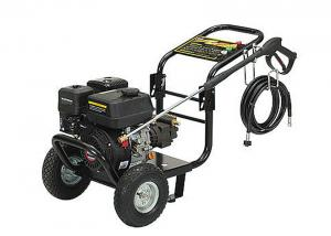 China CE Gasoline High Pressure Washing Machine with 2 Wheels / Triplex Plunger Pump on sale