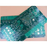 Blind Via PCB Built On 18 Layer With BGA Package and green soldermask color
