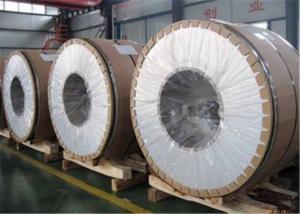 China PPGI Painted Aluminum Coil , Wood Prepainted Aluminum Flashing Coil supplier