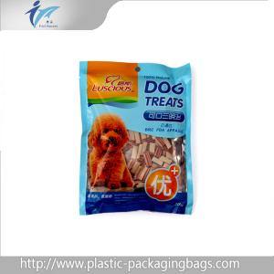 China Recyclable Moisture Proof With Zipper Pet Food Packaging Bags on sale