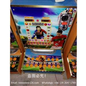 China Amusement Machine Africa Love Coin Operated Fruit Casino Gambling Jackpot Arcade Games Slot Machines on sale