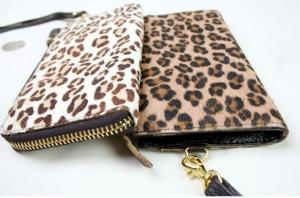 China OEM fashion animal skin ladies hand wallet key G3612 on sale