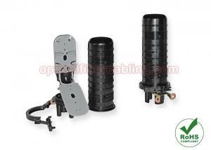 China Vertical / Dome Fiber Optic Splice Closure Heat Shrink Sealing Max 96 Fiber Splicing on sale