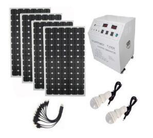 China Endurable 800 Hours Home Solar Power System 400w Reverse Discharge Protection on sale