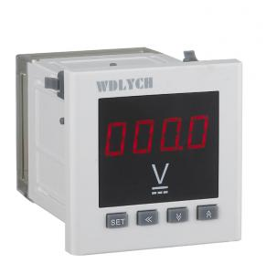 China WD-2UD Plug In Digital Panel Voltmeter 120mm Single Phase High Voltage on sale