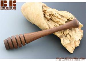 China Black Walnut Honey Dipper Wood Kitchen Decor Housewarming Gift Wood Kitchen Utensil on sale