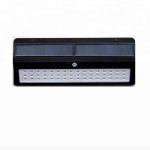 China ABS+PP 48 Leds Motion Sensor LED Outdoor Garden Wall Light with 6 Hours Charging Time on sale