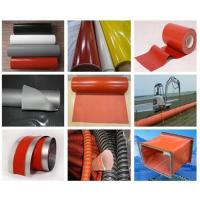 One-sided silicone rubber coated fiberglass cloth