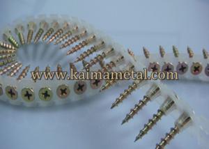 China Yellow zinc sharp point, drywall screw on sale
