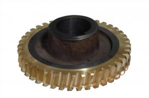 China Copper worm wheel for worm-gear case WDZ15 supplier