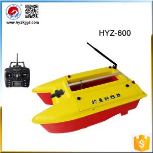 China Portable Catamaran RC Fishing Bait Boat HYZ600 on sale