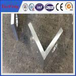 China aluminium profile corner joint / aluminum corner profile / aluminium rectangular extrusion wholesale