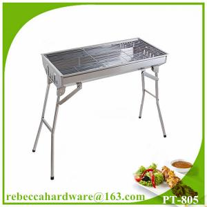 China European BBQ grill stainless steel outdoor BBQ charcoal grill on sale