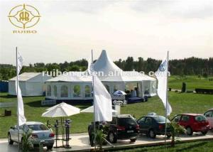 China Double Wareproof Pagoda Party Tent Commercial Removable Stable Structure on sale