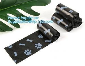 China Biodegradable custom made pet dog waste bag, Wholesale Custom Colorful Pet Poop Bag Dog Waste Bag With Dispenser Dog Poo on sale