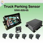 SINH-828-6S Truck parking sensor for 0.4-5m sensor detection,Hd night vision, Suitable for most engineering vehicles