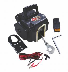 3500 LB Marine Portable Electric winch 12V DC With Remote