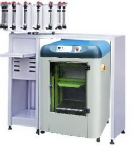 China automatic paint shaker and manual paint dispenser combined on sale
