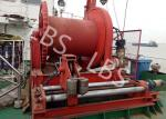 High Efficient 20 Ton Anchor Marine Electric Winch With Spooling Device