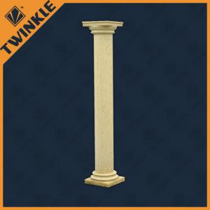 China Classical Natural Stone Column Of Roman Marble For Garden Decorative on sale