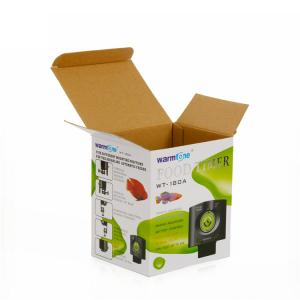 China Cardboard Cartons Corrugated Packaging Box For Electrical Products Custom Size on sale