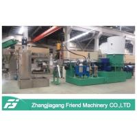 High Efficiency Waste Plastic Recycling Pelletizing Machine For PP PE PVC ABS EPS