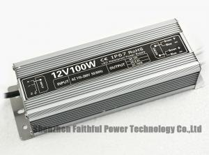 Quality IP67 Constant Voltage 100W 12V LED Switching Power Supply LED Grow Light Power for sale