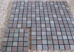 China Natural Driveway Paving Stones , Dark Grey Red Porphyry Outside Paving Stones wholesale