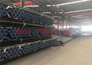 China Round Seamless Alloy Steel Pipe , Carbon Steel Seamless Tube IBR Approved on sale